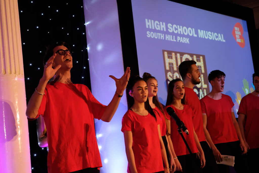 (190350) High School Musical. Pride of Bracknell Awards. Pictures by Mike Swift